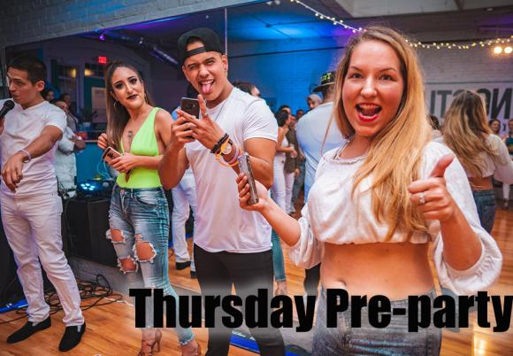 Thursday Pre-Party